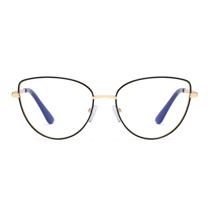SHIRLEY | Black - Gleam Eyewear | Blue Blocking Glasses