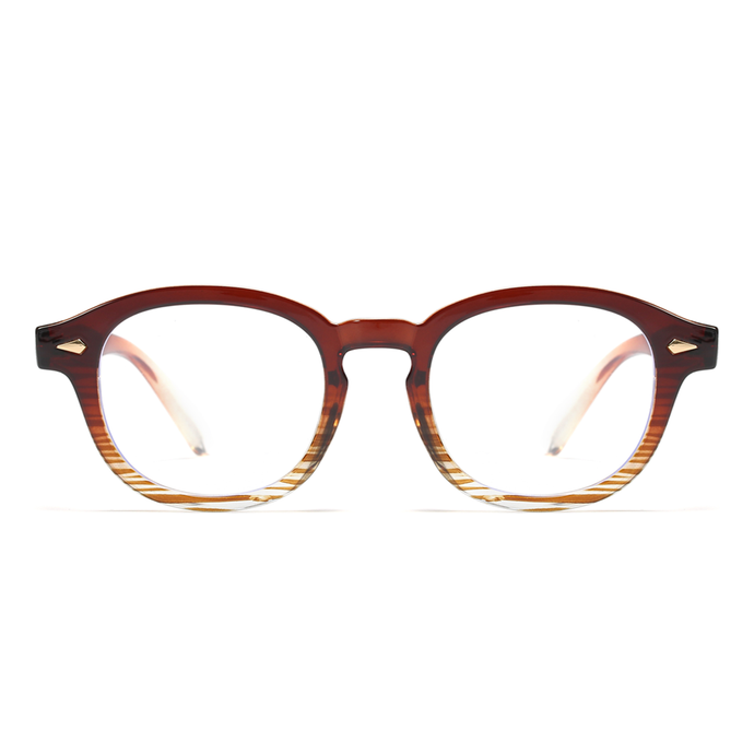 MARIE I Brown - Gleam Eyewear | Blue Blocking Glasses
