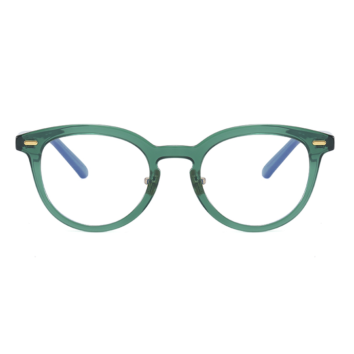 KATHERINE | Green - Gleam Eyewear | Blue Blocking Glasses