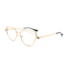 Load image into Gallery viewer, FRIDA | Gold - Gleam Eyewear | Blue Blocking Glasses