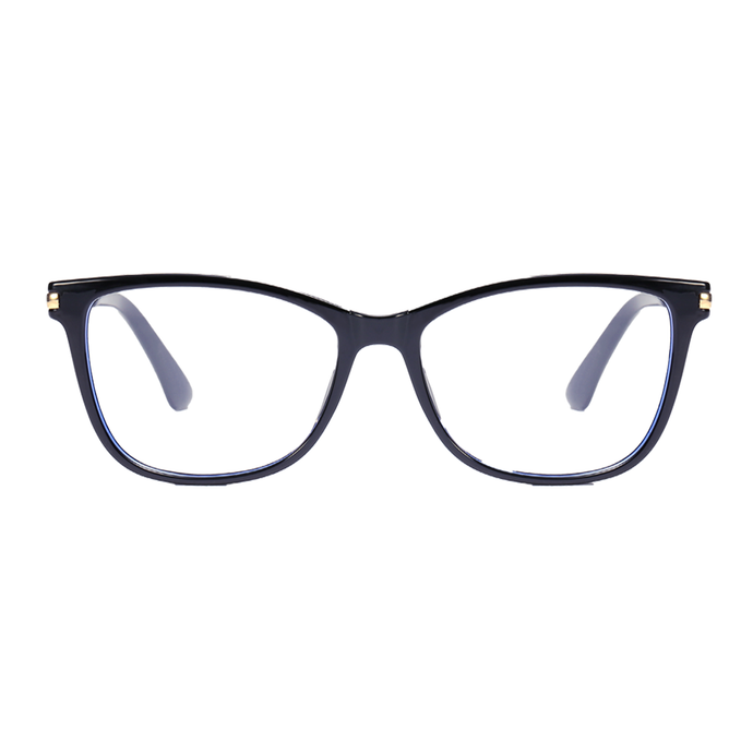 NAOMI I Black - Gleam Eyewear | Blue Blocking Glasses
