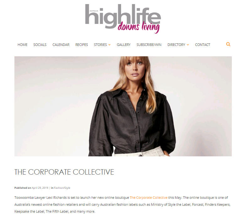 Highlife Magazine and The Corporate Collective