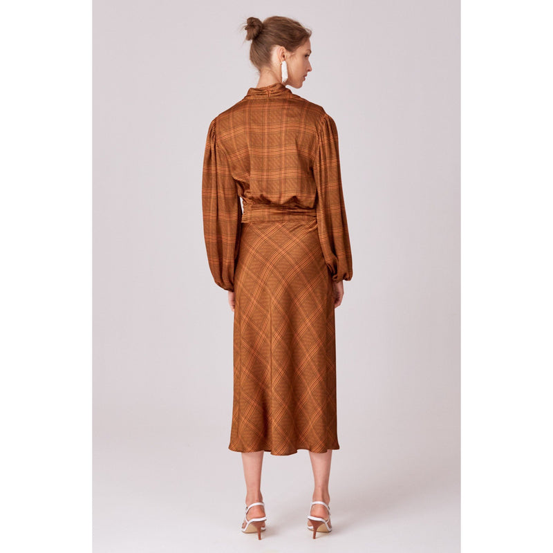 No Time Skirt Copper - The Corporate Collective