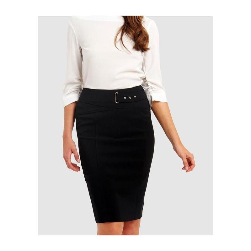 Herriah Buckle Skirt - The Corporate Collective