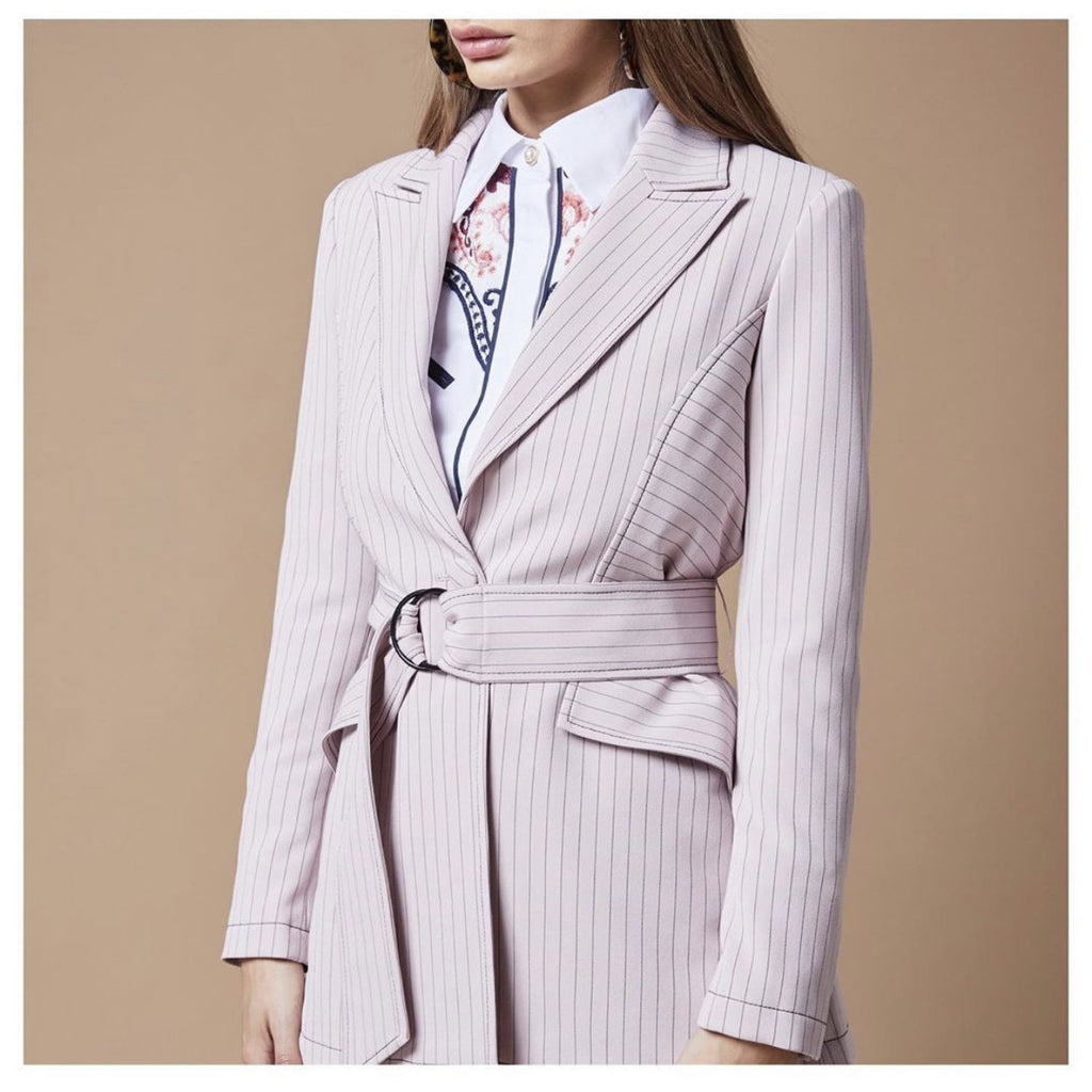 Lady Blazer Pink - The Corporate Collective
