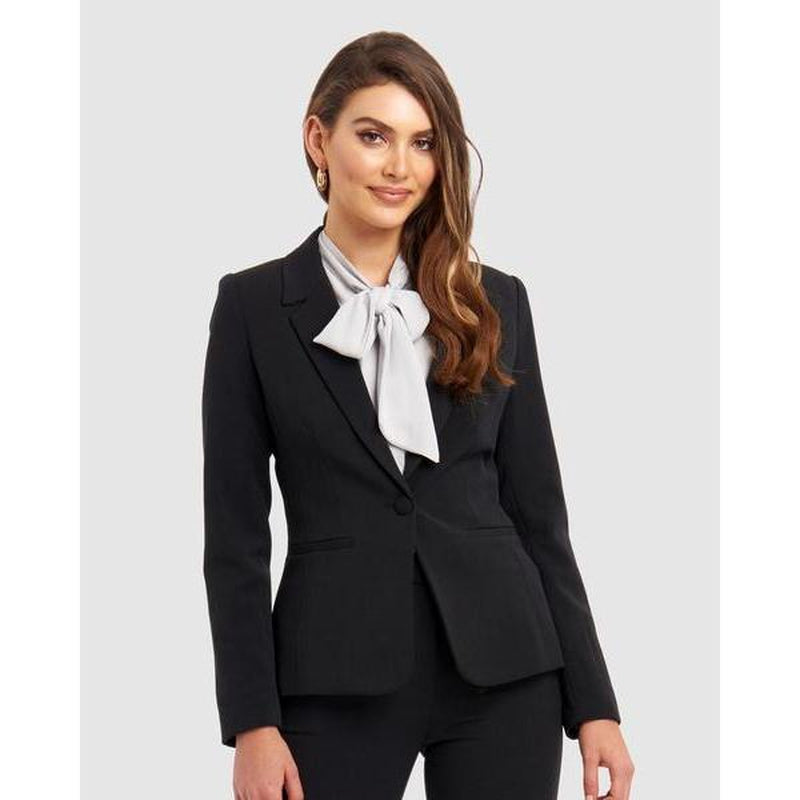 Arianna Suit Jacket - Black - The Corporate Collective