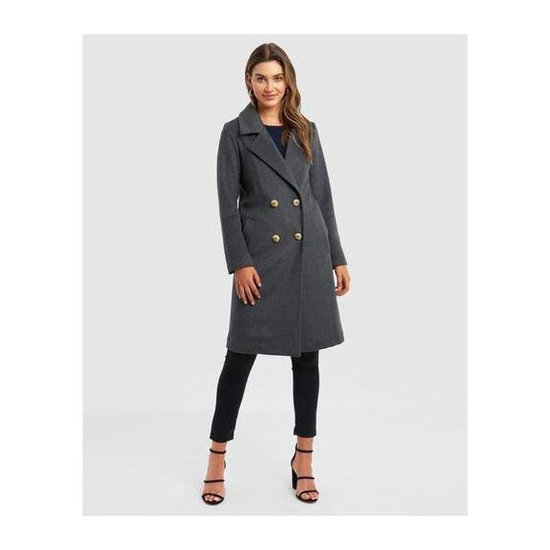 Estrelle Double Breasted Coat - The Corporate Collective