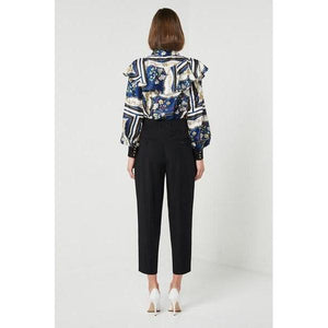 Allegra Pants Black - The Corporate Collective