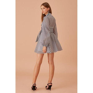 Guardian Long Sleeve Mini Dress - The Corporate Collective
