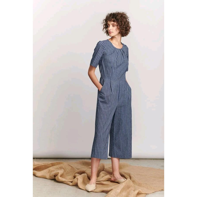Cannes Jumpsuit Navy - The Corporate Collective