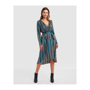 Samantha Tie Waist Dress - The Corporate Collective