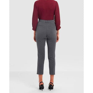 Arianna Suit Pants - Grey - The Corporate Collective