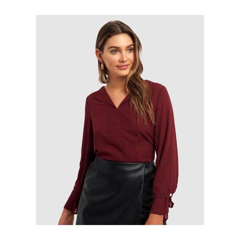 Tamika V-Neck Blouse - The Corporate Collective