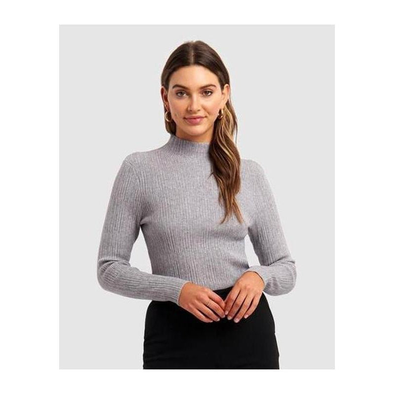 Valley Mock Neck Sweater - The Corporate Collective