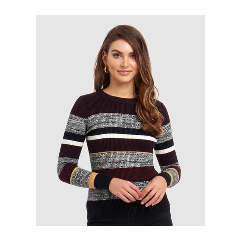 Vicky Long Sleeve Knit - The Corporate Collective