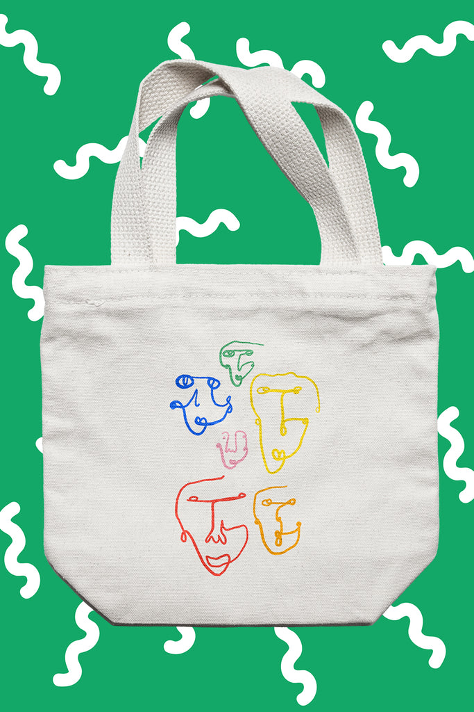 Yeah, I went to art school tote