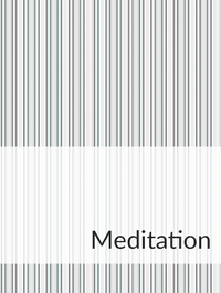 Meditation Optimized Hashtag Report