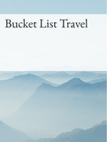 Bucket List Travel Optimized Hashtag Report