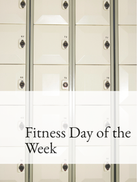 Fitness Day of the Week Optimized Hashtag Report