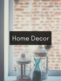 Home Decor Optimized Hashtag Report