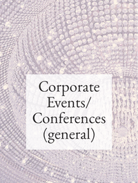 Corporate Events/Conferences (general) Hashtag Rx List