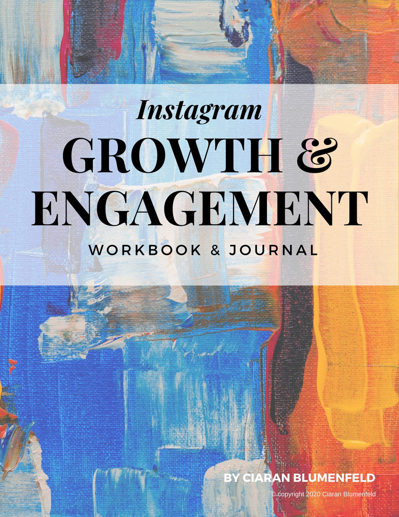 Instagram Growth and Engagement Workbook & Journal - Ebook