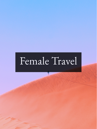 Female Travel Optimized Hashtag Report