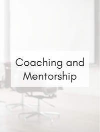 Coaching and Mentorship Hashtag Rx List