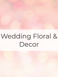 Wedding Floral & Decor Optimized Hashtag Report