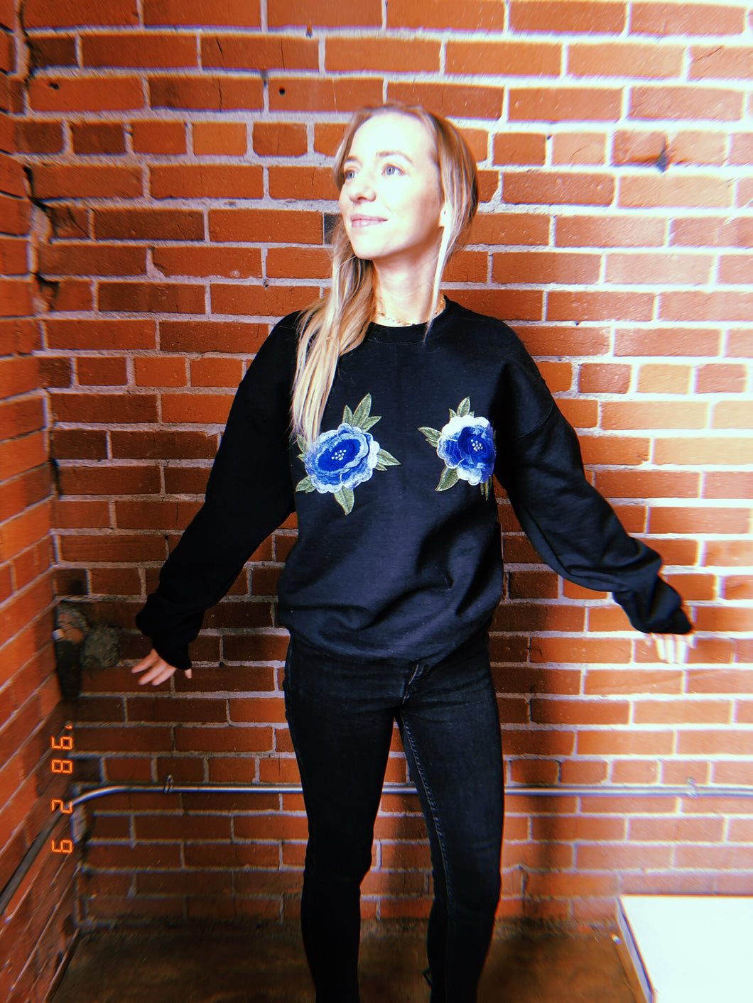 bluebell sweater (black)