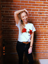 Load image into Gallery viewer, red rose tee