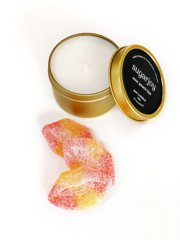 Sour Peach Lips Candle