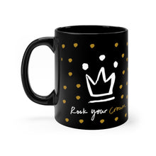Load image into Gallery viewer, Black mug 11oz - elouise + ethel