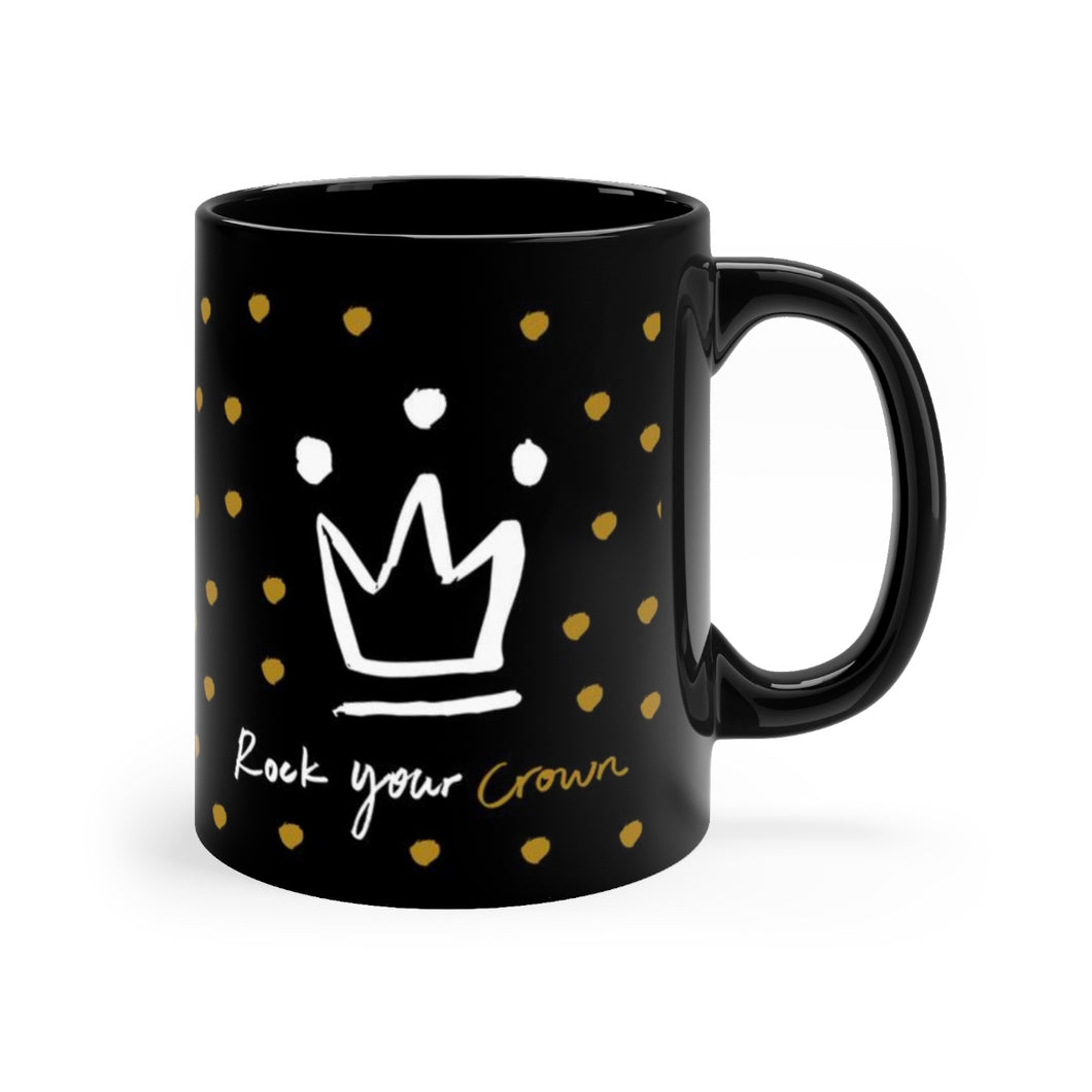 Black mug 11oz - elouise + ethel