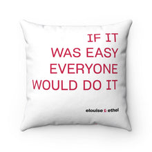 Load image into Gallery viewer, Spun Polyester Square Pillow - elouise + ethel