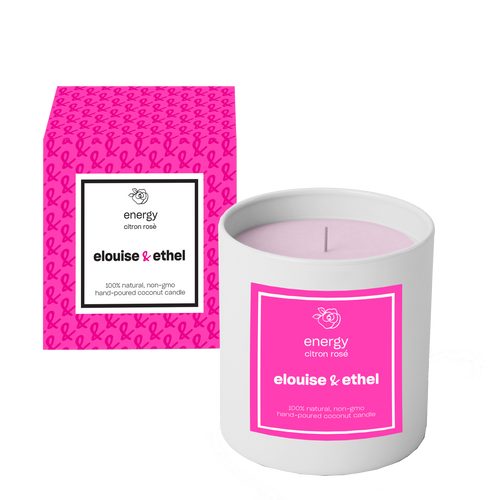 Energy Candle - elouise + ethel