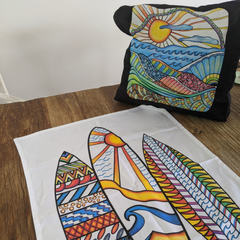 Expressions Fundraising | NSW Creative Kids Kits Design your own tea towels, bags & apron, rock painting kits