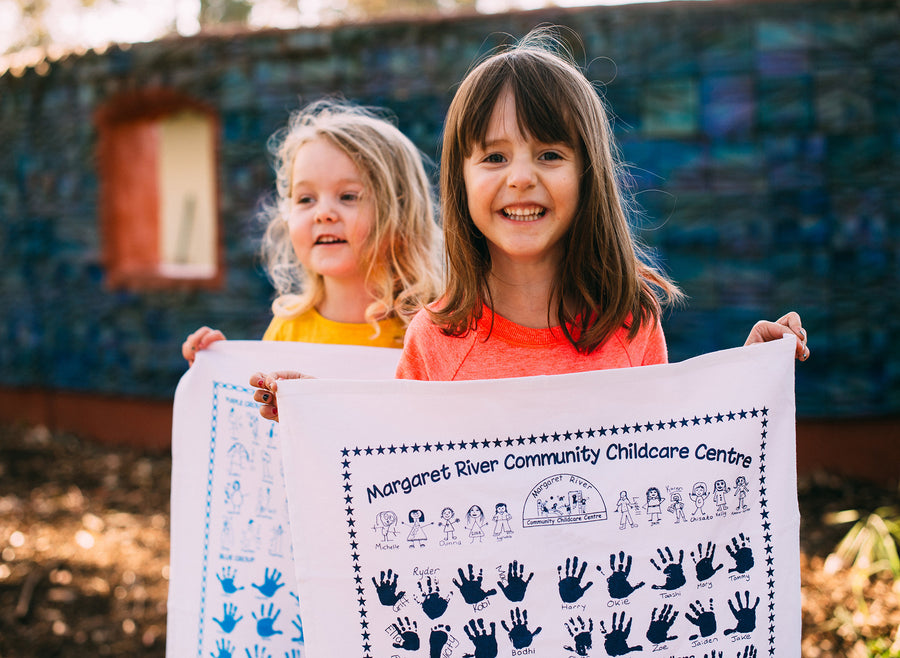 Dunsborough Primary Kindy Tea Towel