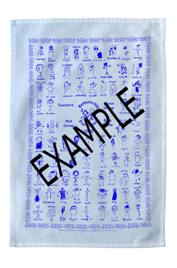 Tea Towel - Beleura Hill Preschool