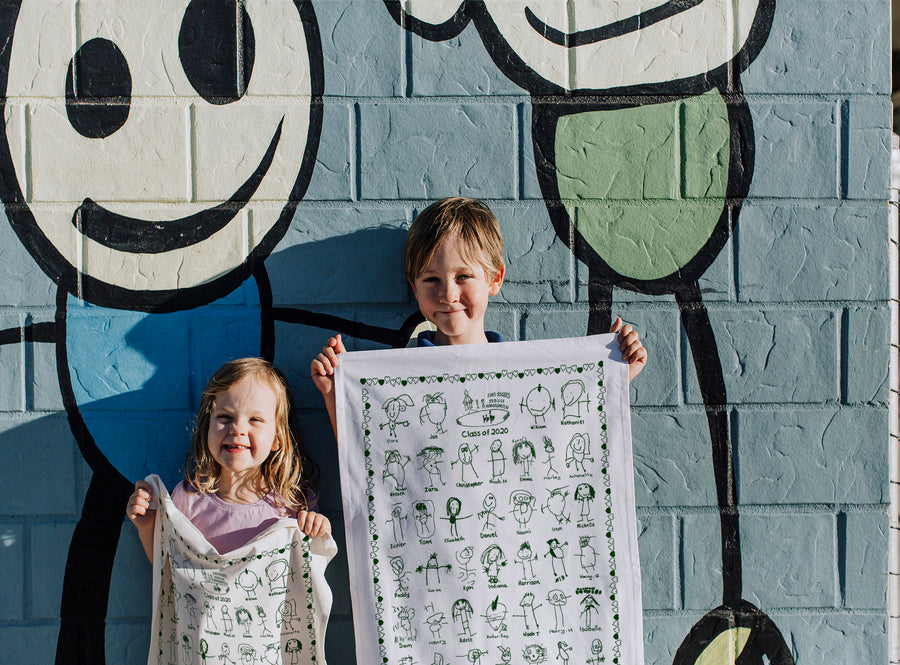 Greensborough Preschool Tea Towel