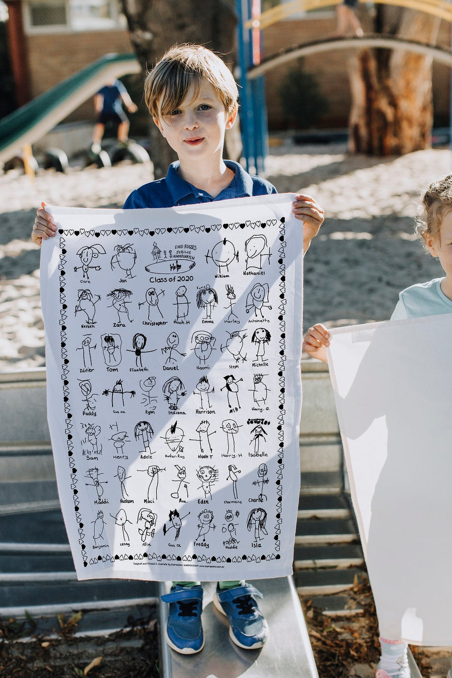 Artarmon Kindergarten Tea Towel