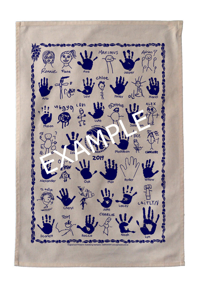 Tea Towel - Warrandyte Kindergarten