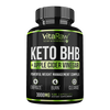 Vitaraw Keto BHB + Apple Cider Vinegar Capsules