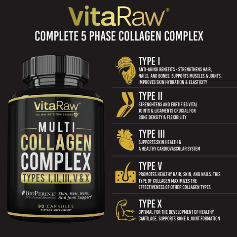 Multi Collagen Complex Capsules