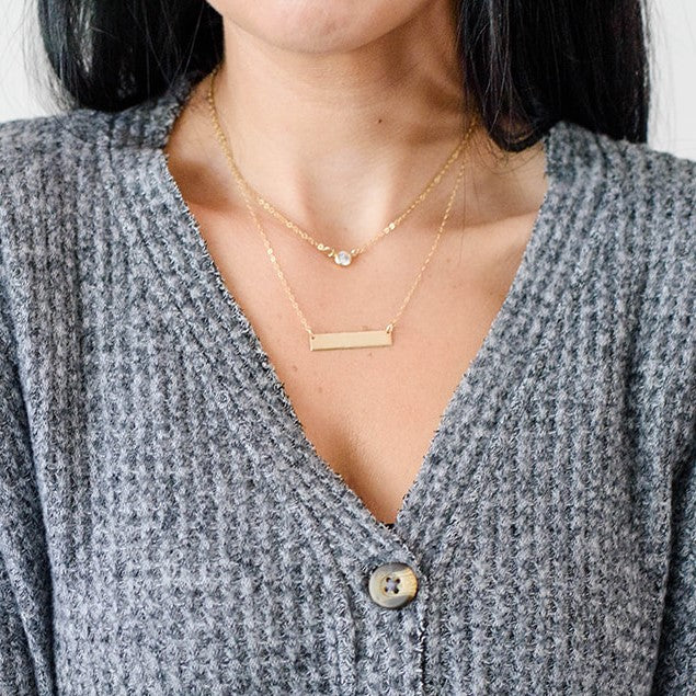 LYLA BAR NECKLACE