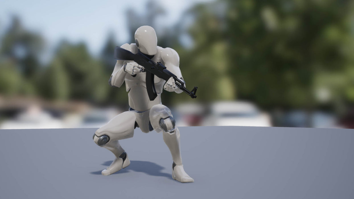 Dynamic Rifle Animset