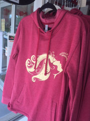 Mother Earth Red Hoodie