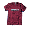 MEB Mountain Tee - Maroon