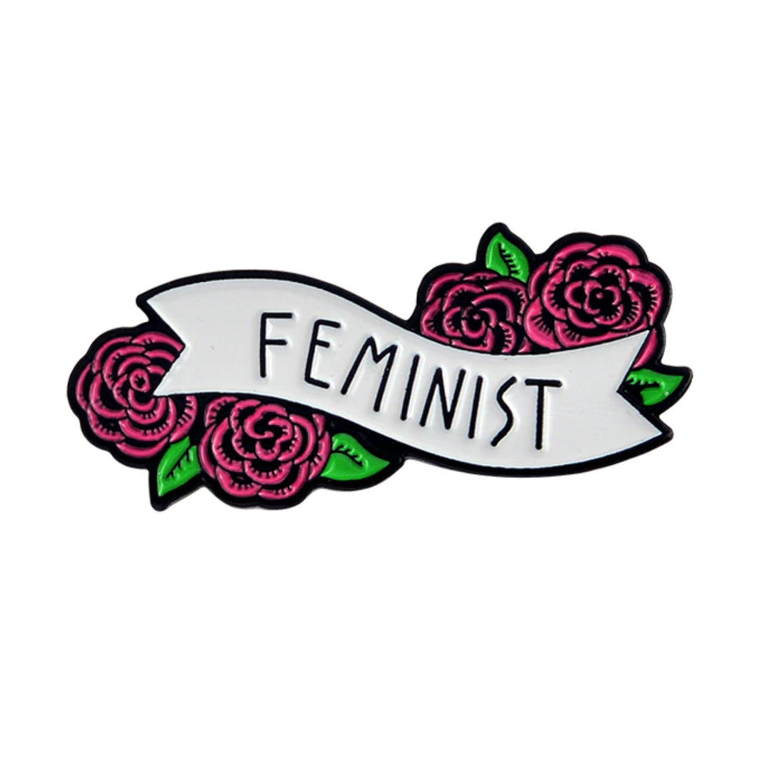 Feminist Enamel Pin for Women by Empowerologist
