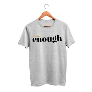 I Am Enough Cotton T-Shirt